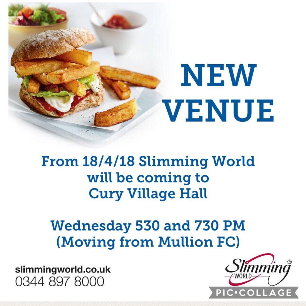 Slimming World – Cury Village Hall #