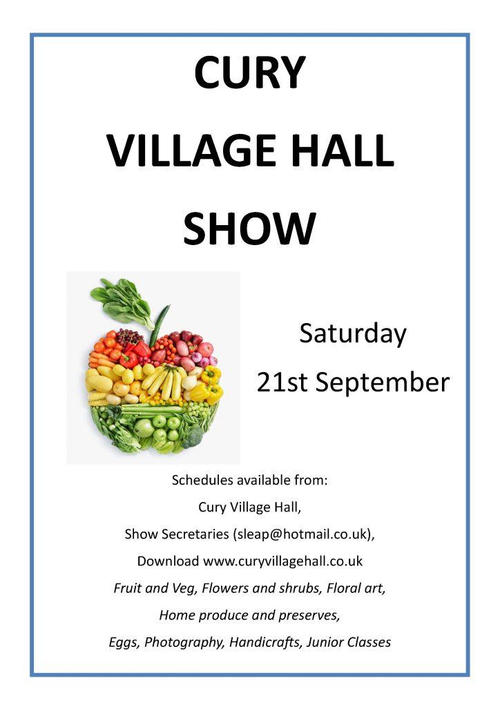 Cury Village Hall Show 2019